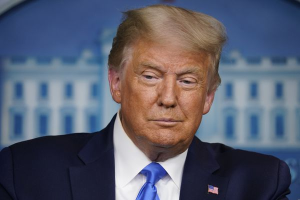 President Donald Trump speaks during a news conference in the James Brady Press Briefing Room of the White House Wednesday, Sept. 23, 2020, in Washington. (AP Photo/Evan Vucci)