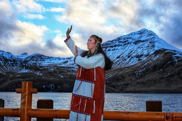"Photo was submitted to ANTHC for the Celebrating Our Physical & Mental Well-being Photo Contest by Nikita Shangin, Akutan, Alaska, who wrote: ""Dancing helps me take away all the worries, and lets me have more gratitude for life."