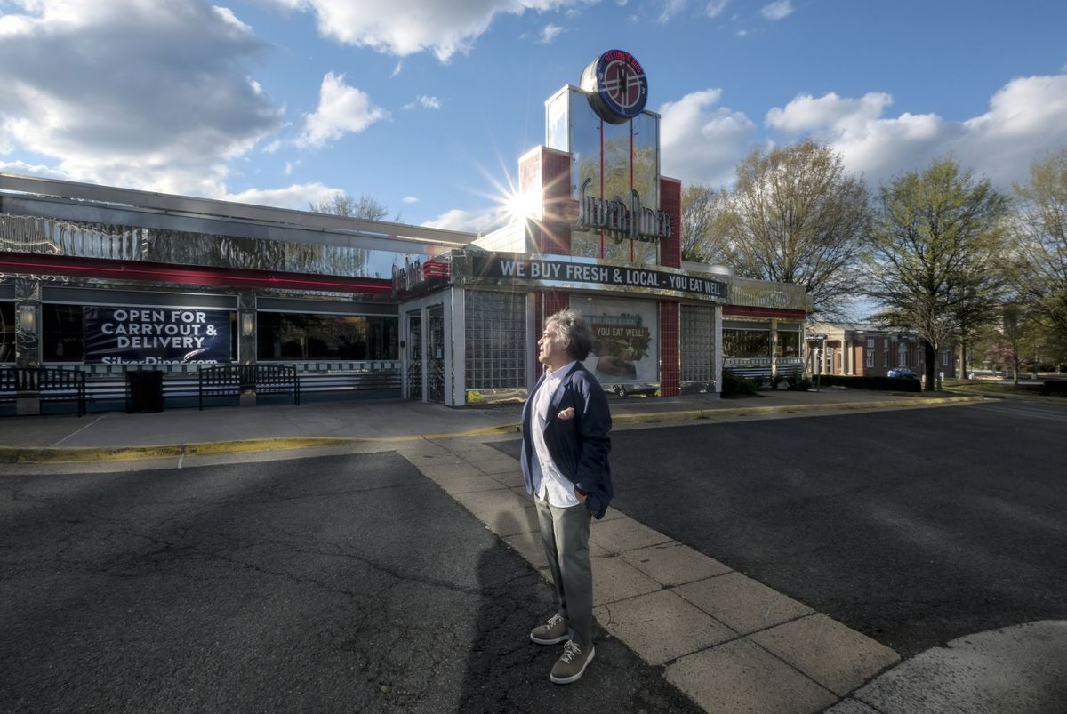 Bob Giaimo is president and co-founder of Silver Diner. (Washington Post photo by Bonnie Jo Mount)