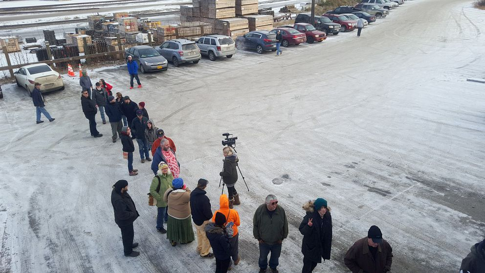 A line extended out the door on Pakalolo Supply Co's opening day, Wednesday. (Pakalolo Supply Co.)