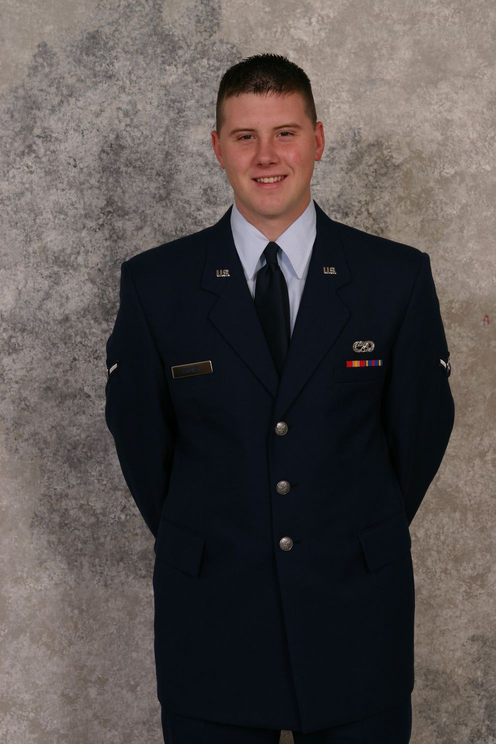 Rob Bruner in his Air Force uniform in 2004. (Photo courtesy of Rob Bruner)