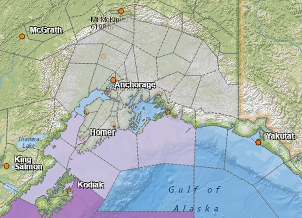 Expect snow, slick roads across Southcentral Alaska - Anchorage ...