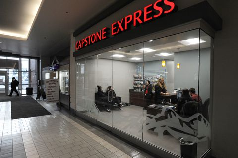 Capstone Express will open a telemedicine clinic in the Anchorage 5th Avenue Mall on Tuesday. (Bill Roth / ADN)
