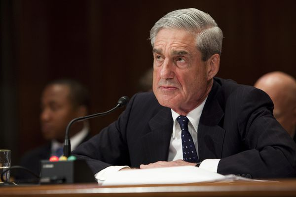 FILE -- FBI Director Robert Mueller III testifies during a hearing on Capitol Hill, in Washington, May 16, 2013. The Justice Department has appointed Mueller to serve as a special counsel to oversee its investigation into Russian meddling in the 2016 election, Deputy Attorney General Rod Rosenstein announced on May 17, 2017. (Christopher Gregory/The New York Times)