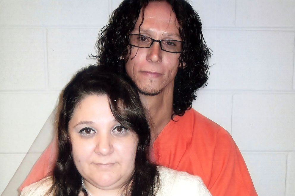 Brian Hall and his wife Angela Hall, an advocate for the families of incarcerated people in Alaska. (Photo courtesy of Angela Hall)
