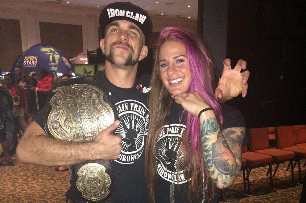 Mazany siblings, Gina and Dave, are both MMA fighters. (Photo provided by Gina Mazany)