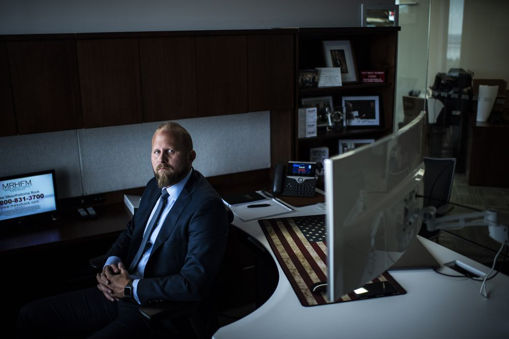 Trump campaign manager Brad Parscale. (Washington Post photo by Jabin Botsford)