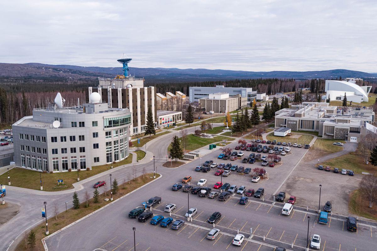 The University of Alaska Fairbanks campus is seen Friday, Oct. 18, 2019.(Loren Holmes / ADN)