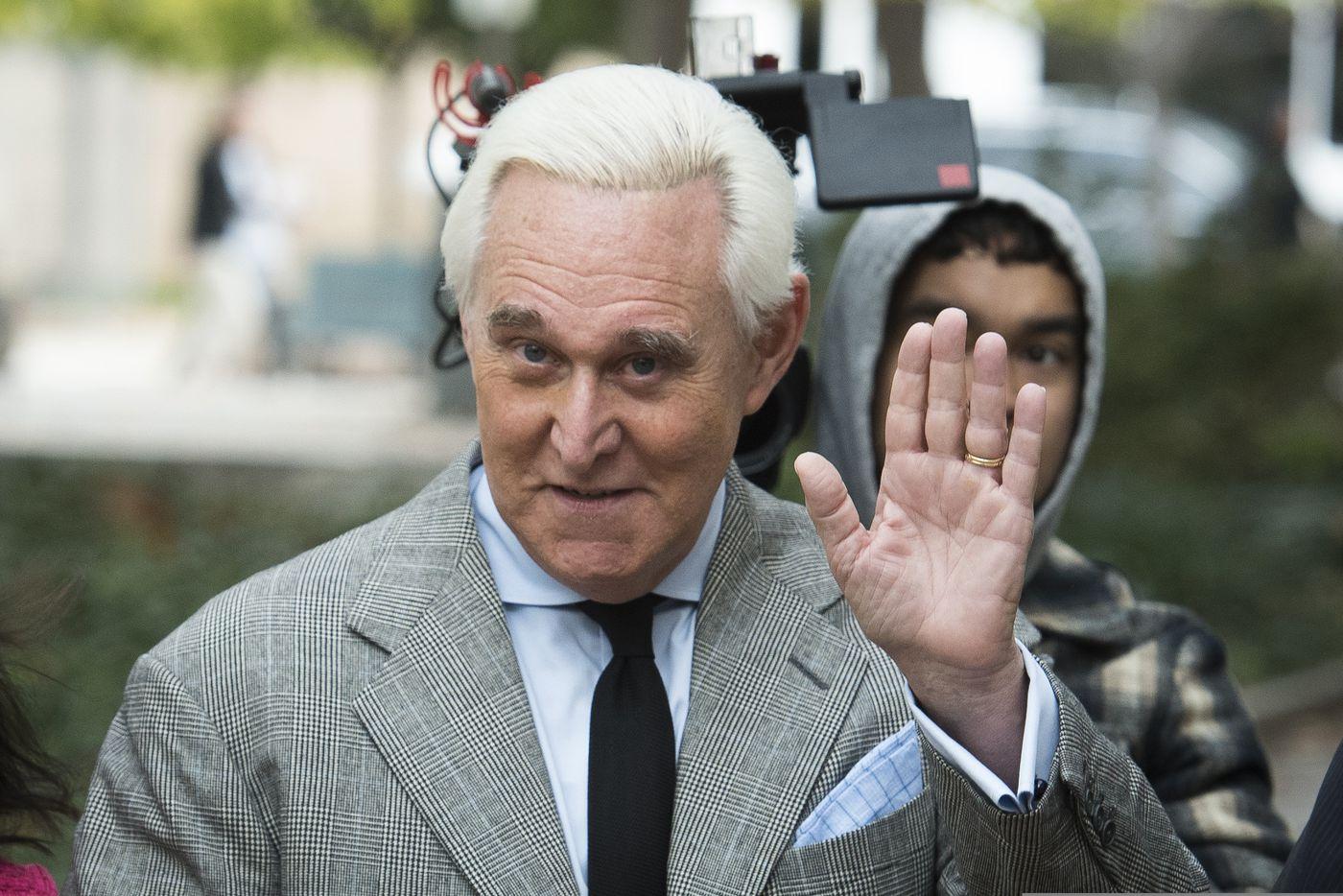 Roger Stone. (AP Photo/Cliff Owen, File)