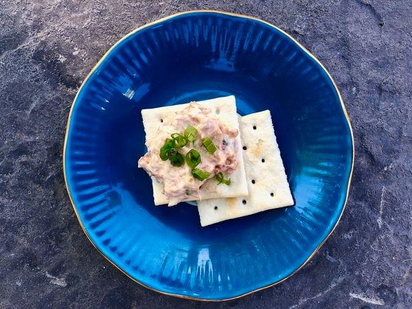 Salmon spread with jalapenos. (Julia O'Malley / ADN)