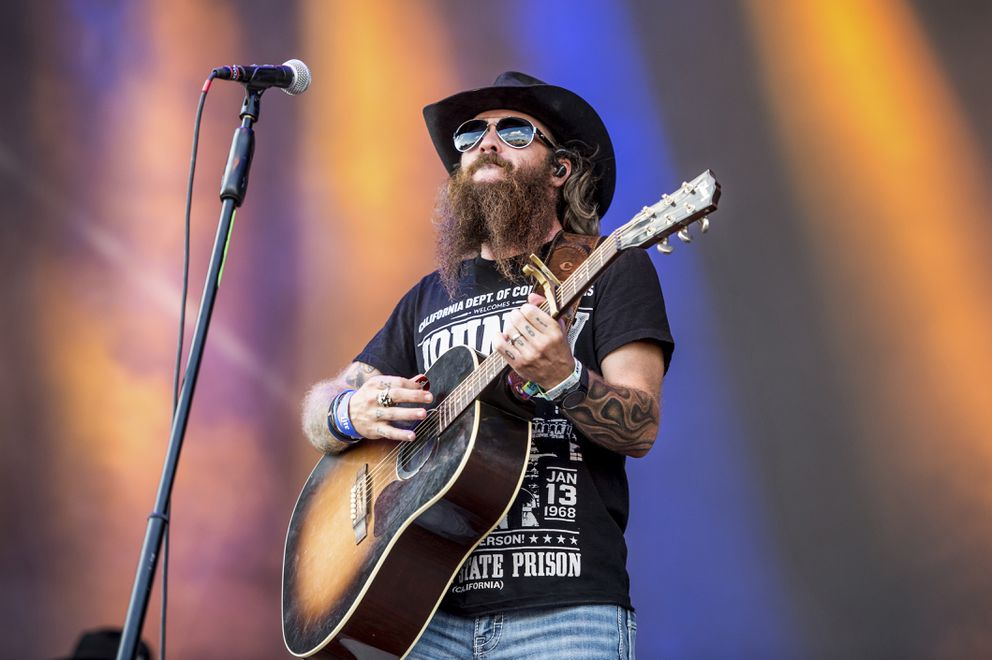 Cody Jinks performs at the Austin City Limits Music Festival at Zilker Park on Saturday, Oct. 14, 2017, in Austin, Texas. Jinks perform at the Backyard Country BBQ in Anchorage Wednesday, June 26, 2019. (Photo by Amy Harris/Invision/AP)