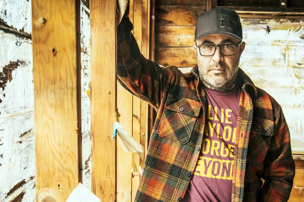Alt-rock and country musician Aaron Lewis (Photo by Jim Wright)