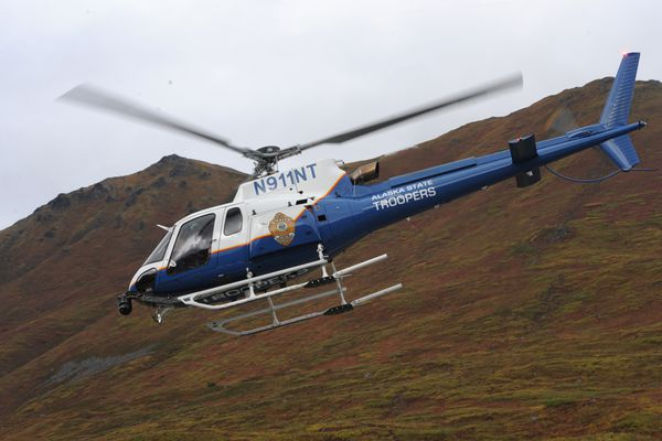 Alaska State Troopers helicopter