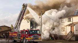 Fire in Nome apartment block displaces at least 20 people