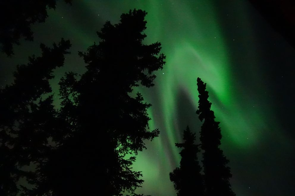 Aurora is space weather made visible. (Ned Rozell)