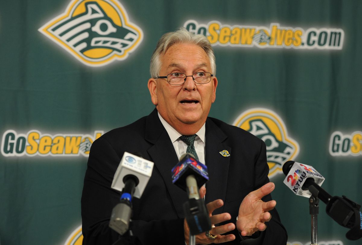 UAA athletic director Keith Hackett said no decisions have been made about the budget cuts facing the athletic department, although two of the three options presented in a budget review would eliminate hockey. (Bill Roth / Alaska Dispatch News)