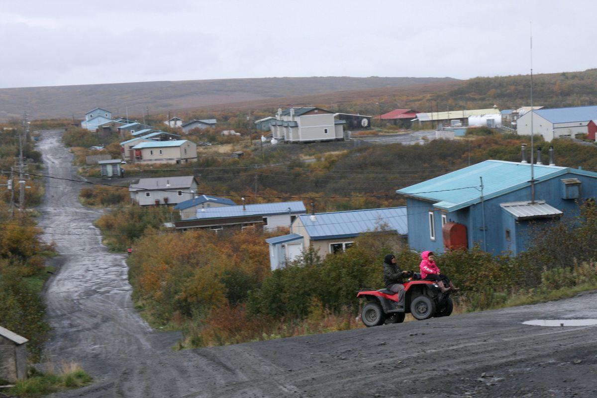 Mountain Village. (Lisa Demer / Alaska Dispatch News)
