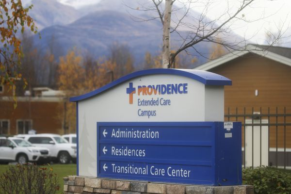 The Providence Extended Care campus in Anchorage on Oct. 12, 2020. (Emily Mesner / ADN)