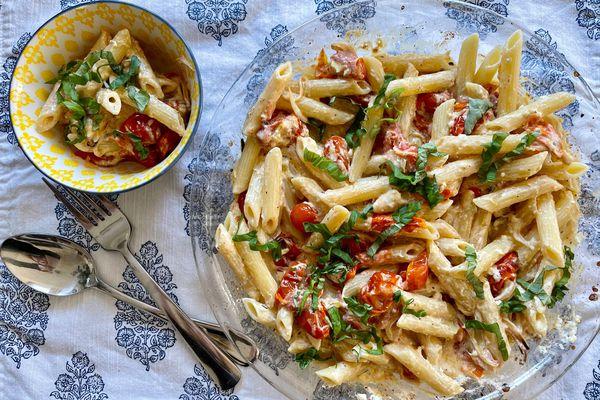 Baked feta pasta (Photo by Julia O'Malley)