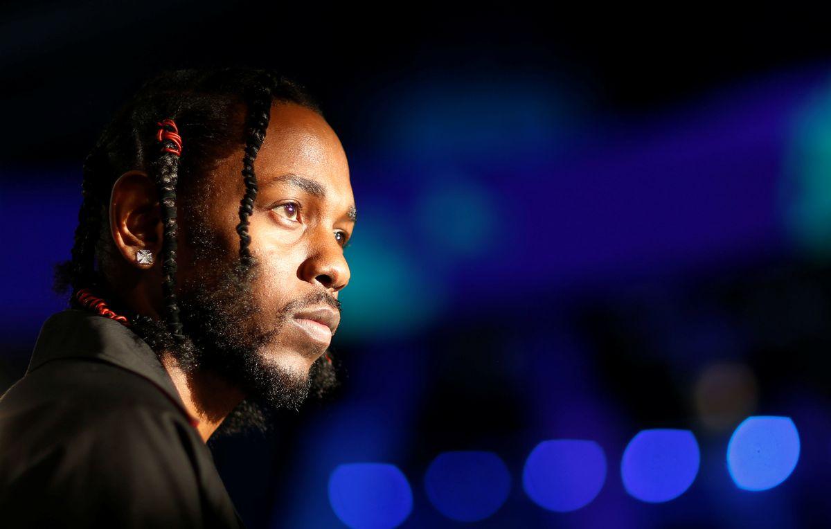 Kendrick Lamar at the MTV Video Music Awards in Inglewood, California, August 27, 2017. REUTERS/Mario Anzuoni