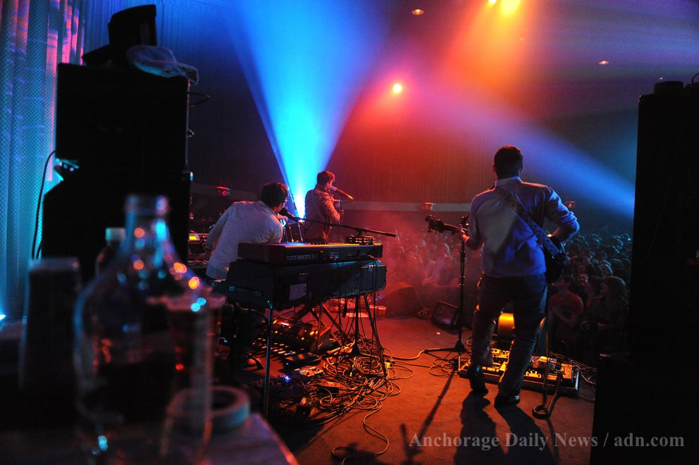 Portugal. The Man plays at the Bear Tooth Theatrepub on December 21, 2012.(Marc Lester / ADN archive 2012)