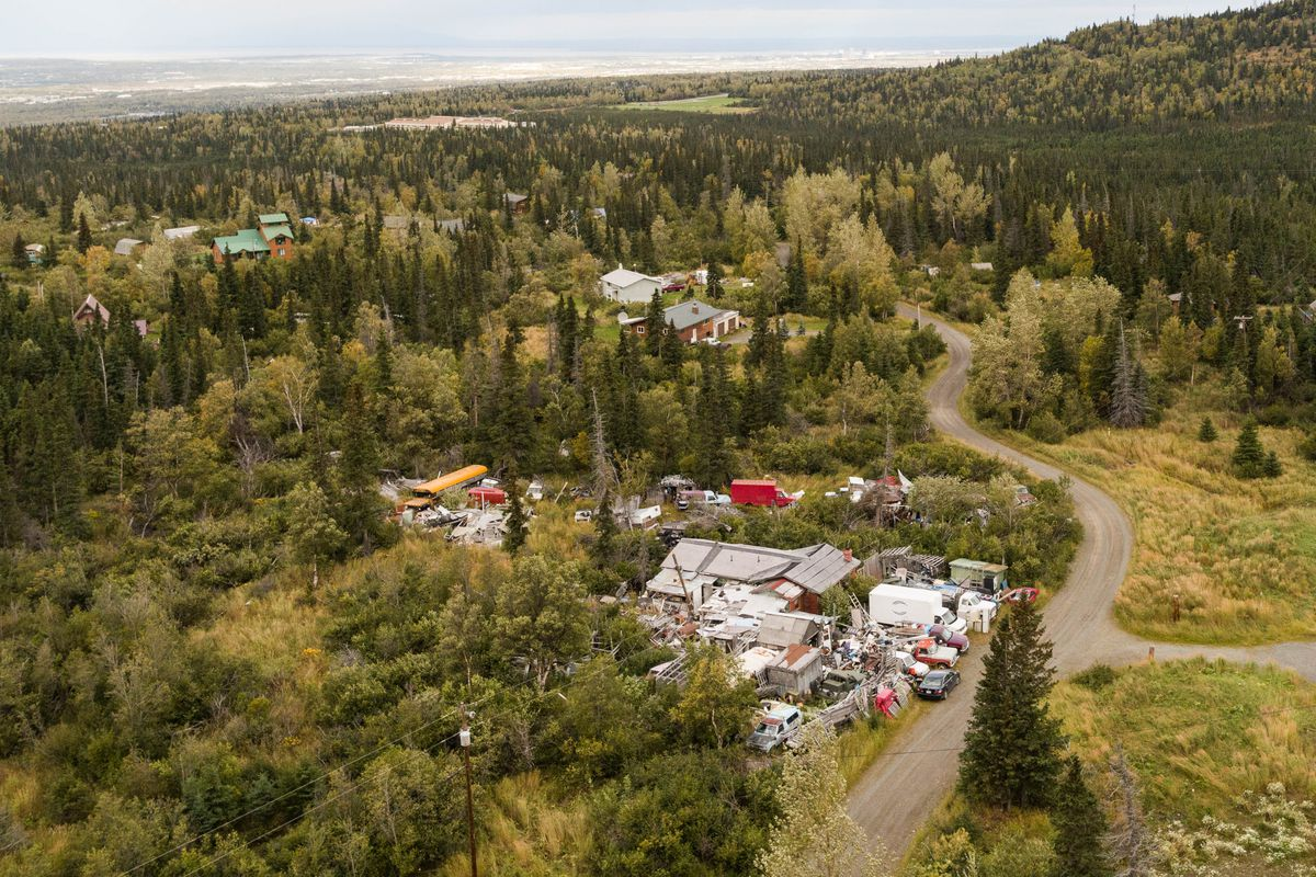 David and Jane Szabo's property in Bear Valley, photographed Sept. 13, 2017. (Loren Holmes / ADN archive)
