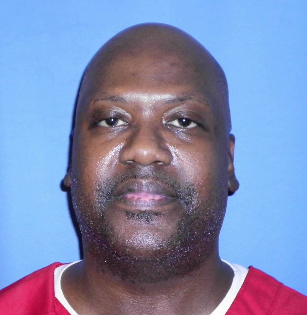 This Aug. 3, 2017 photo provided by Mississippi Department of Corrections shows Curtis Flowers, who's murder case has gone to trial six times. Supreme Court justices are again considering how to keep prosecutors from removing African-Americans from criminal juries for racially biased reasons, this time in a case involving a Mississippi death row inmate who has been tried six times for murder. (Mississippi Department of Corrections via AP)