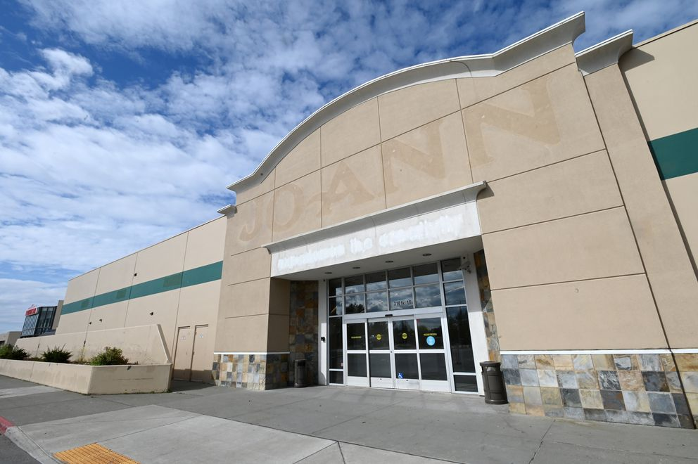 Joann Fabric and Crafts has closed its store in the Northway Mall. (Bill Roth / ADN)