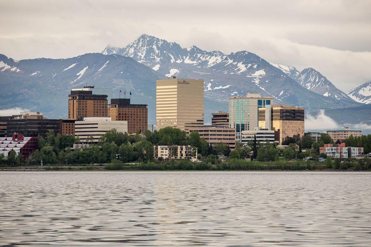 Downtown Anchorage. (Loren Holmes / ADN file)