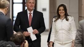House Republicans elect Trump defender Elise Stefanik to No. 3 post