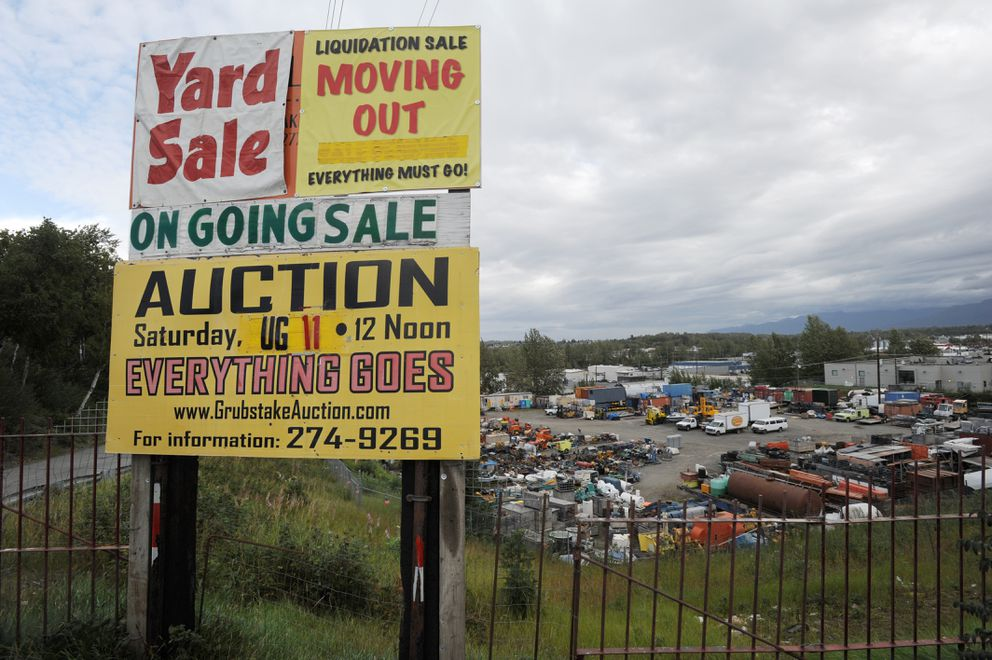Until this week, Ron Alleva of Grubstake Auction Co. owned five parcels of land near the Brother Francis Shelter and Bean's Cafe until the city bought two parcels and is in negotiations to purchase the remaining three including the land beneath the auction yard. Thursday, August 30, 2018. (Bill Roth / ADN)