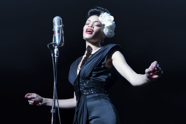 This image released by Paramount Pictures shows Andra Day in