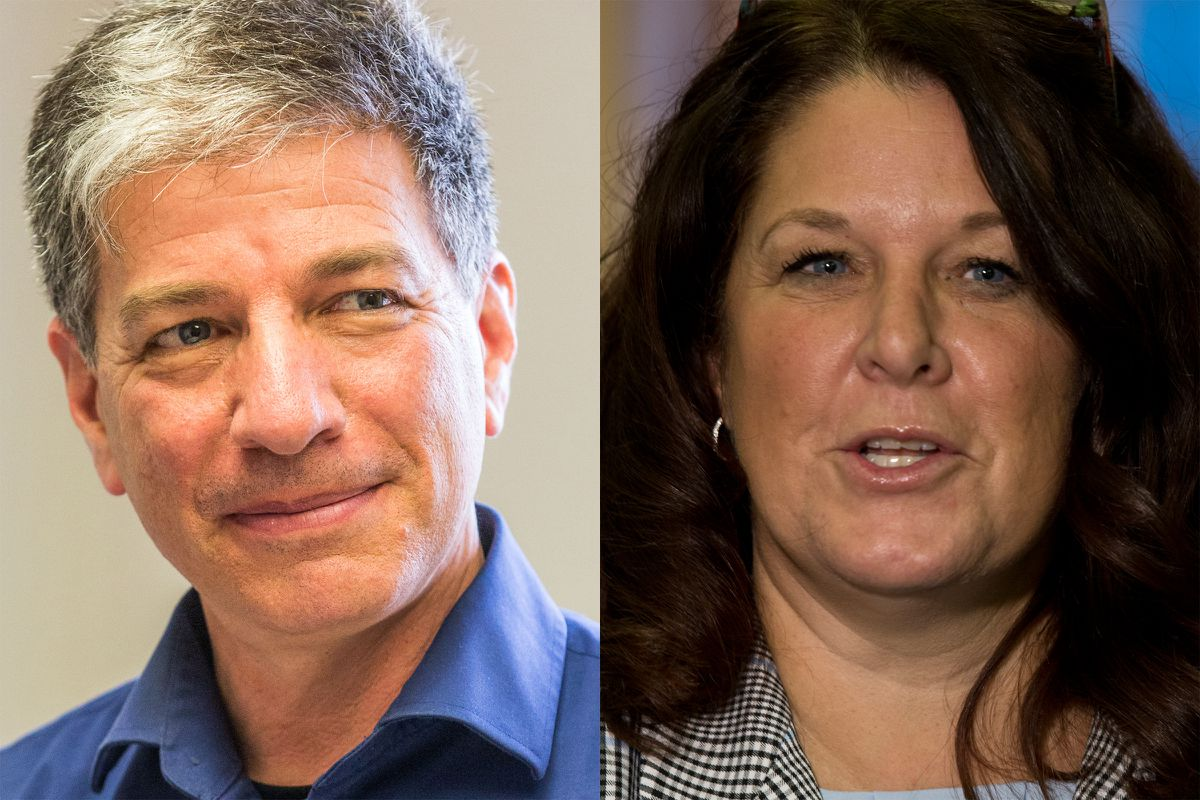 Ethan Berkowitz and Rebecca Logan are running for mayor of Anchorage in 2018.