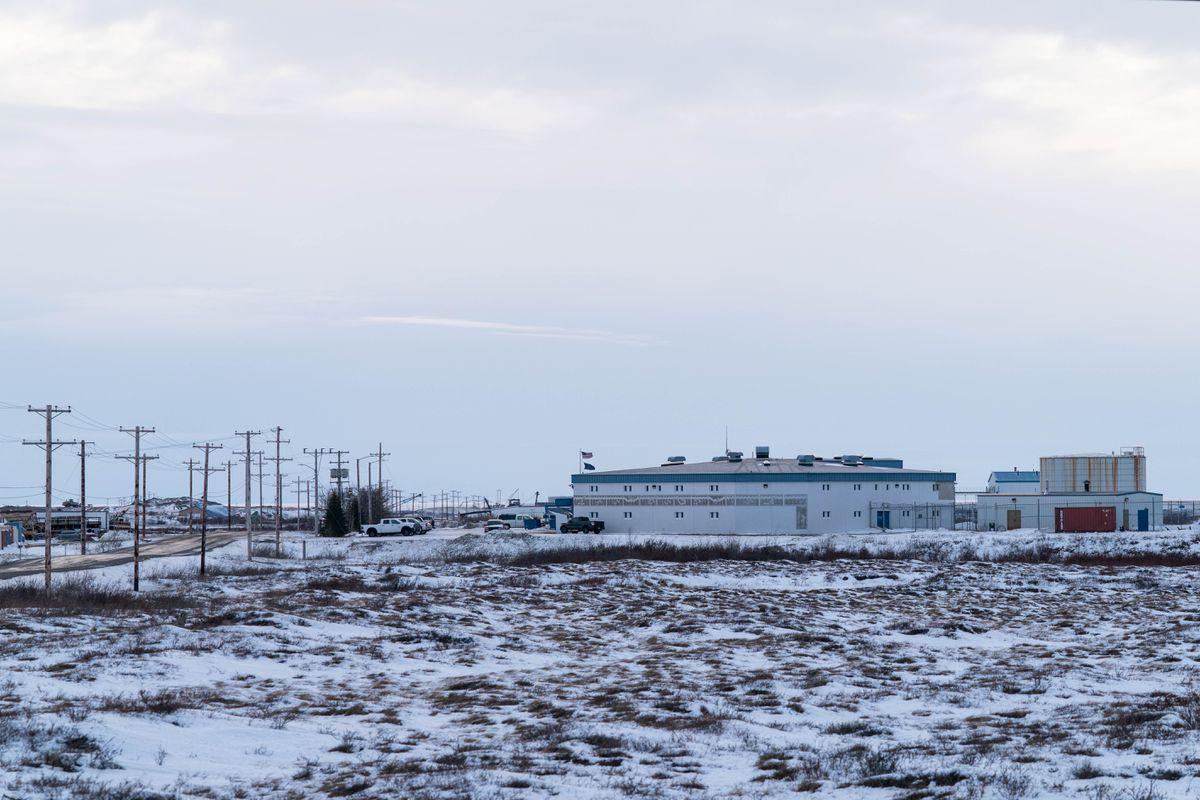 The Anvil Mountain Correctional Center, photographed on Dec. 13, 2019. (Loren Holmes / ADN)