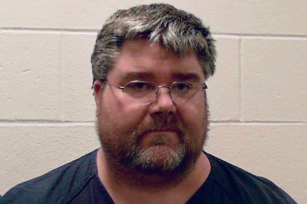 Steven H. Downs, 44, was arrested Friday, Feb. 15, 2019, in connection with the death of 20-year-old Sophie Sergie at the University of Alaska Fairbanks in 1993. (Photo courtesy Androscoggin County Jail.)