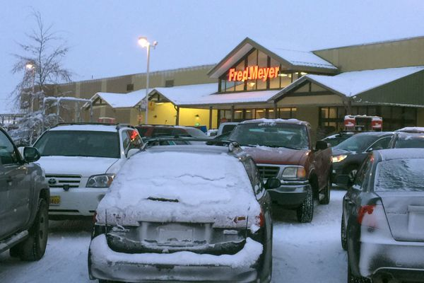 The Fred Meyer West in Fairbanks is the highest grossing market in the chain of grocery stores. (Dermot Cole / Alaska Dispatch News)