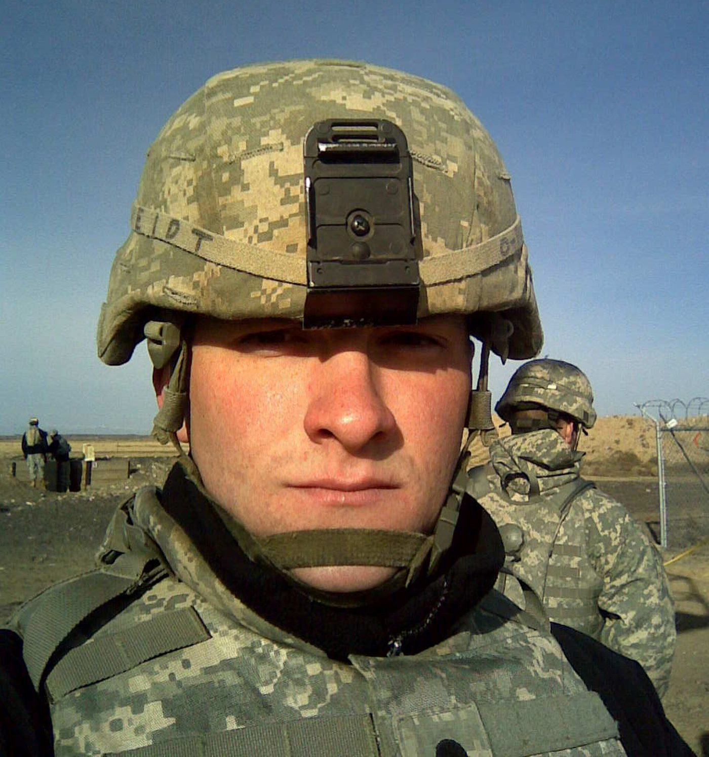 Benjamin Tveidt, 29, lives in Boise and serves in the Idaho Army National Guard. He has twice deployed to Iraq. In 1986 he was found as a newborn baby left in a box in Muldoon. He would now like to find his biological parents.