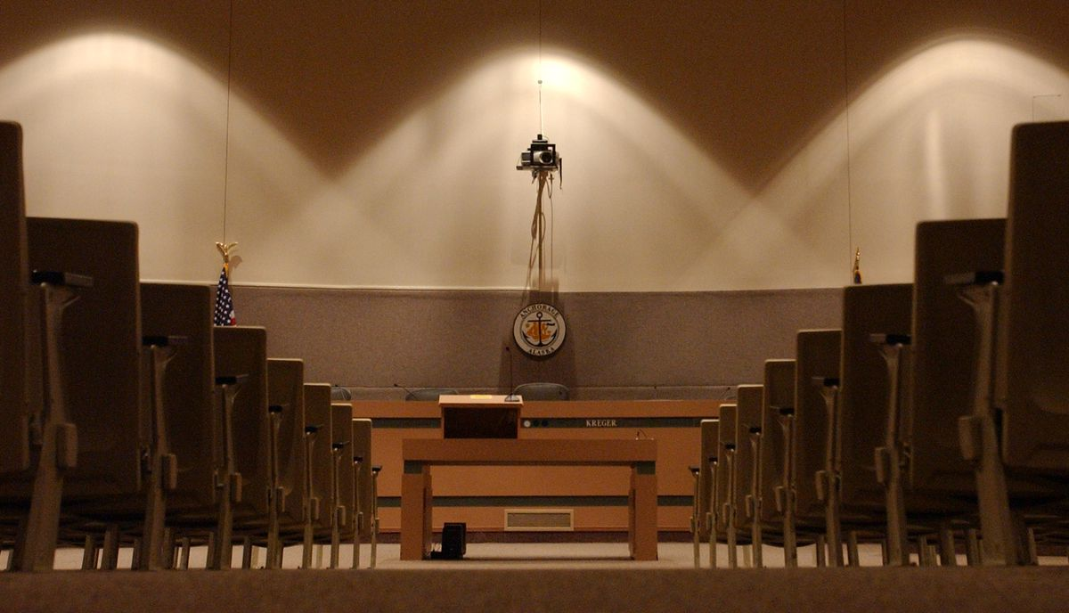 Anchorage Assembly chambers. (Erik Hill / ADN archive)