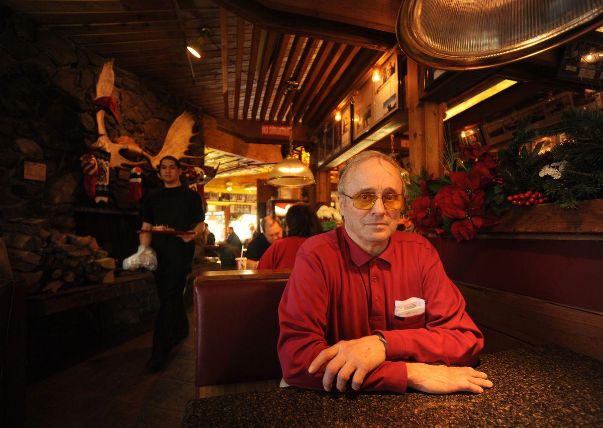"Richard ""Dick"" Sanchis. Photographed on Dec. 8, 2010. (Bob Hallinen / ADN)"