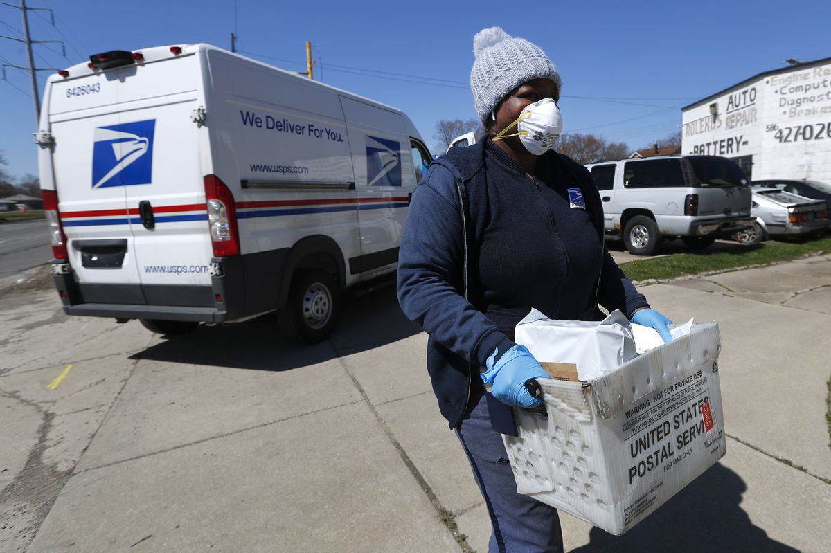 White House Rejects Bailout For U S Postal Service Battered By Coronavirus Anchorage Daily News