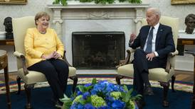 Biden hosts German chancellor Merkel in her final visit to the White House