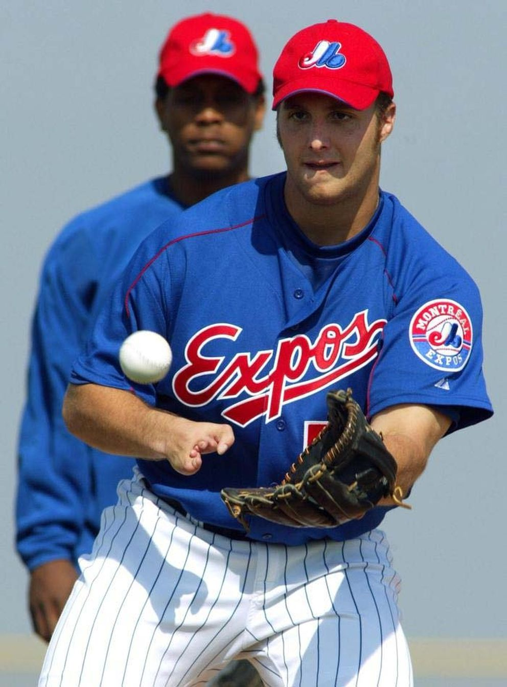Chad Bentz spent a season pitching for the Montreal Expos despite being born with a deformed hand. (Associated Press)