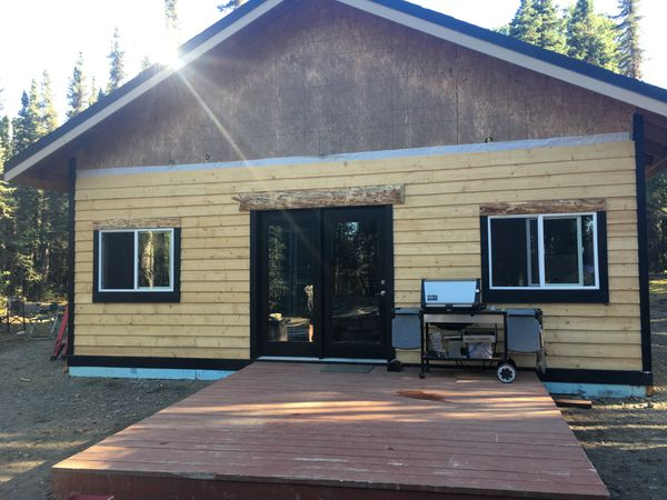 The Klebs family's recreational cabin near Big Lake. (Photo by Sarah Klebs)