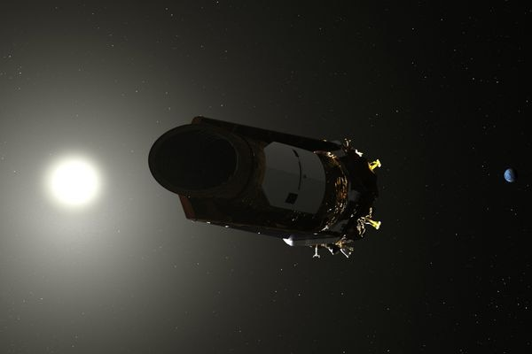 Artist's conception of the Kepler space telescope. MUST CREDIT: NASA