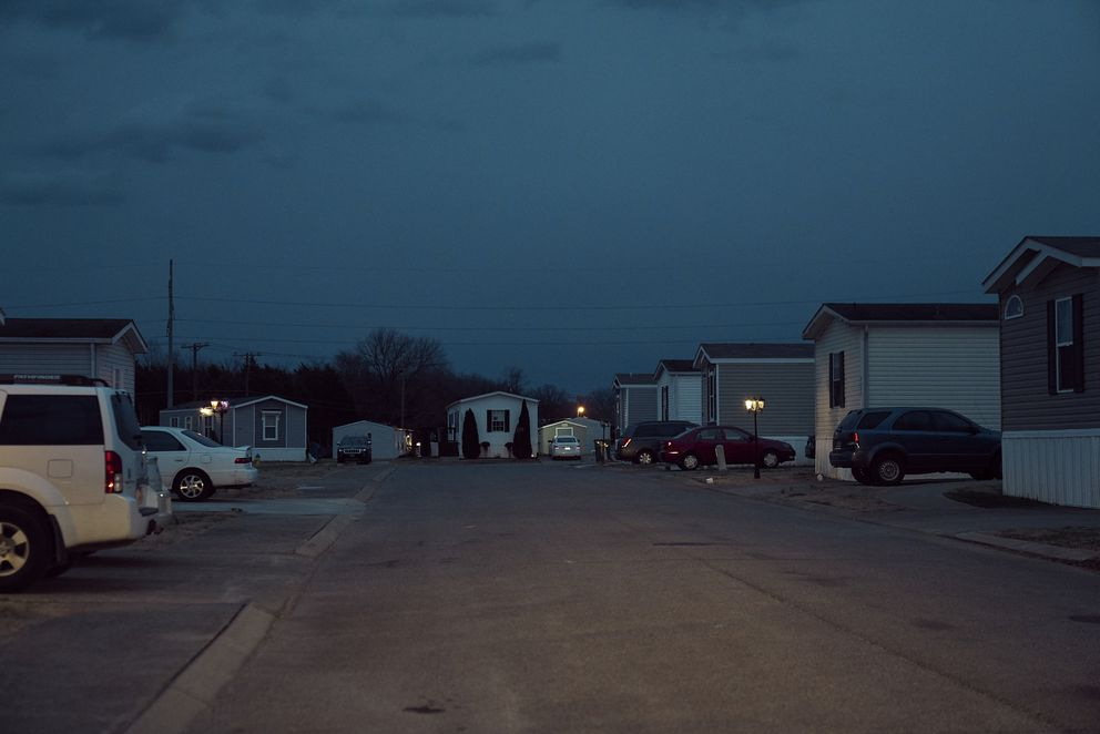 A mobile home park owned by a private equity firm in Smyrna, Tennessee. Photo for The Washington Post by Stacy Kranitz