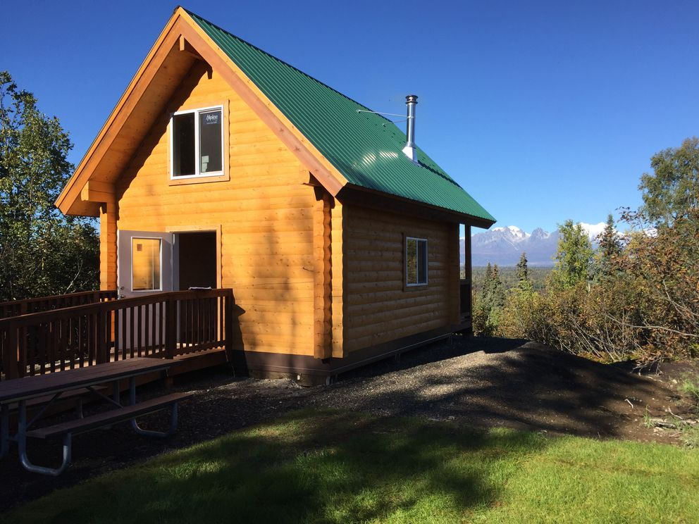 The Denali Cabin at the K'esugi Ken Campground in Denali State Park. (Alaska State Parks)