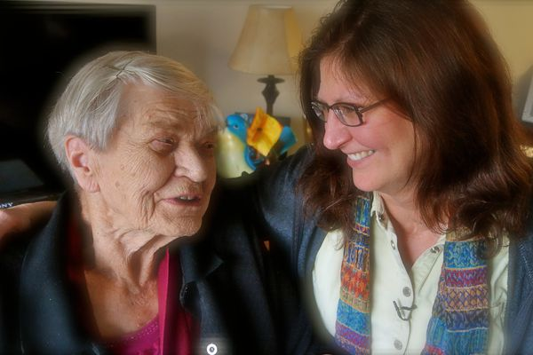 OPINION: As thousands of Alaskans can testify, Alzheimer's is in the future for more of us than we'd like to think. Wisdom counsels us to prepare for it. Pictured: Janet Burts and her mother, Pat Green, are among those Alaskans whose stories are told in