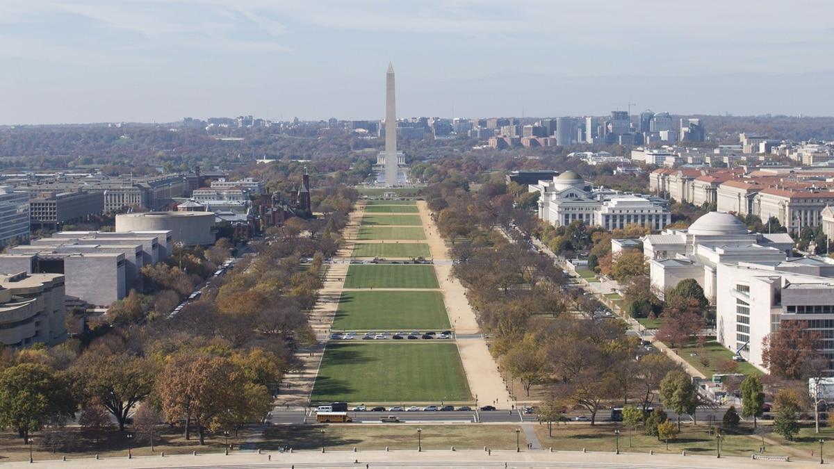 The Mall in Washington, D.C. (Washington Post photo)