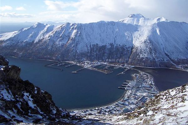 King Cove is located on the south side of the Alaska Peninsula in the Aleutians East Borough. It is 18 miles southeast of Cold Bay. (Courtesy Aleutians East Borough)