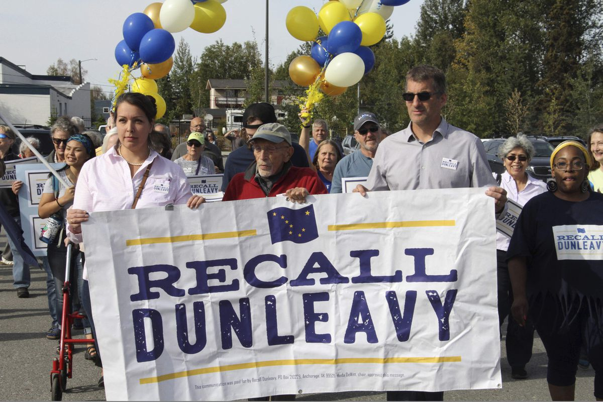 Recall is attractive to Dunleavy's opponents. But it's not their best option.